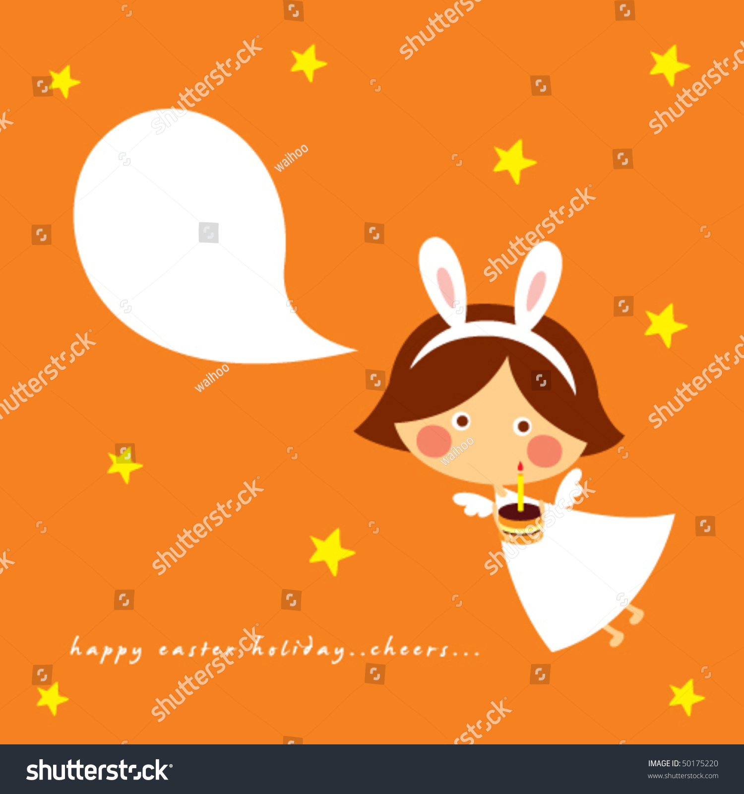 Angel birthday greeting card stock photo photo vector angel birthday greeting card m4hsunfo