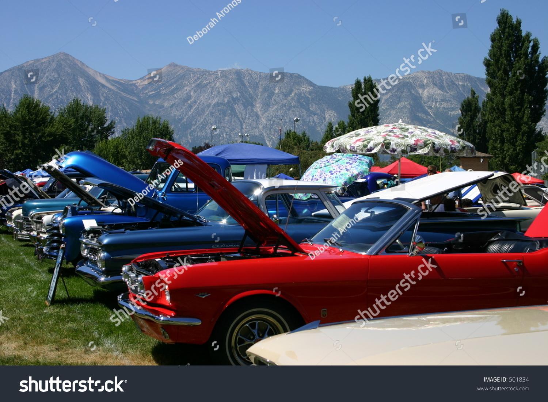 Classic Car Show Line Stock Photo Edit Now Shutterstock - Car shows near me now