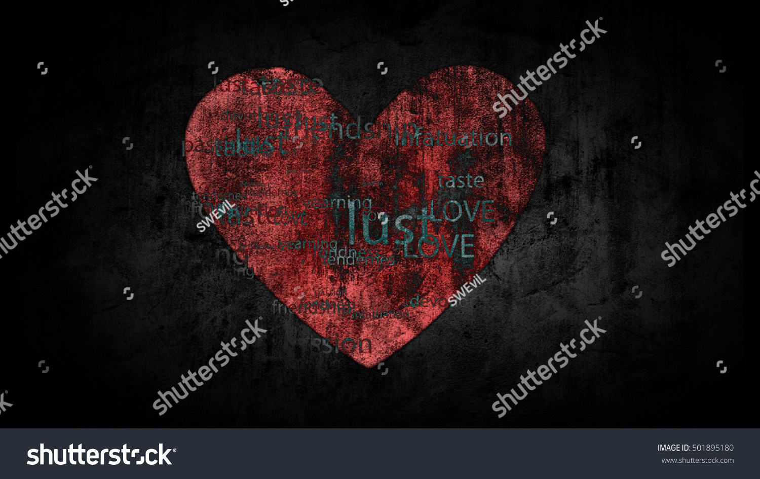 Shabby background painted heart words antonyms stock illustration shabby background with painted heart with the words antonyms for the word love biocorpaavc