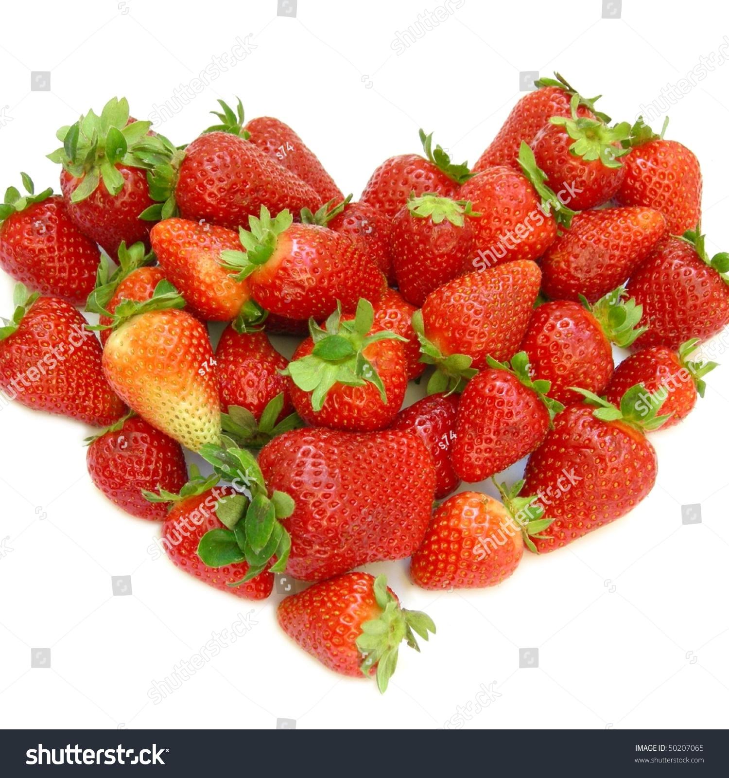 Red strawberry heart symbol love passion stock photo 50207065 red strawberry heart symbol of love and passion biocorpaavc