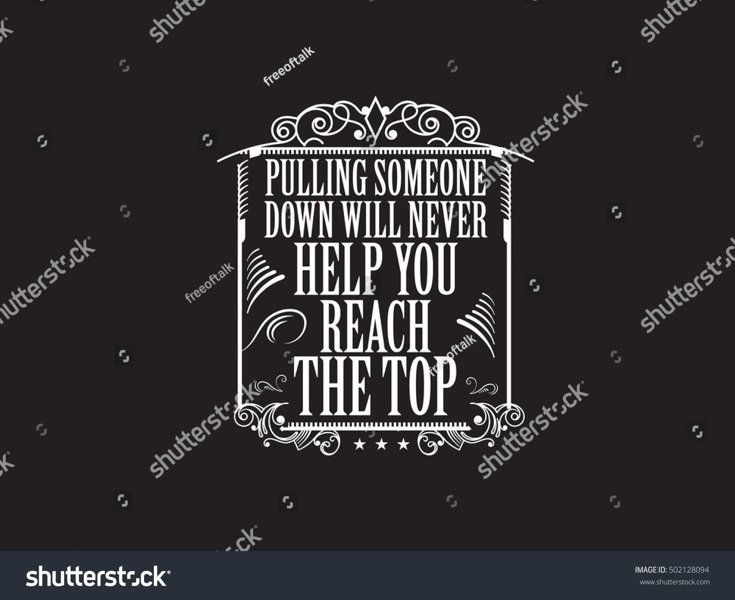 Bullying Quote Bullying Quote Stock Vector 502128094  Shutterstock
