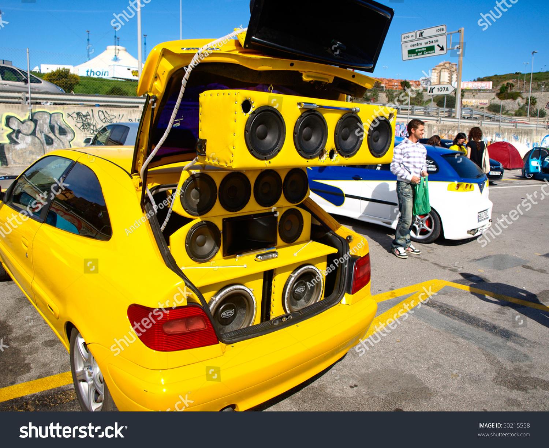 Algeciras Spain April 04 Car Tuning Stock Photo 50215558