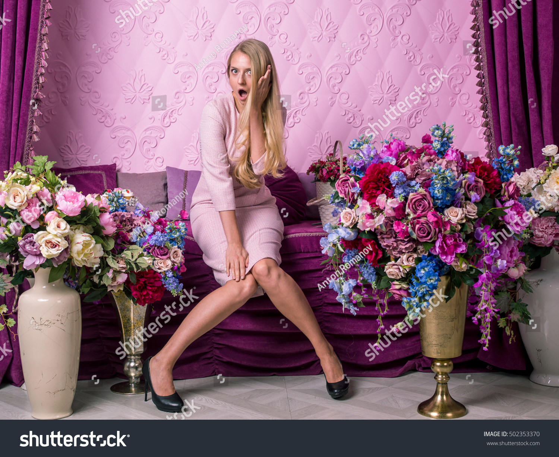 Room Beautiful Russian Girls In