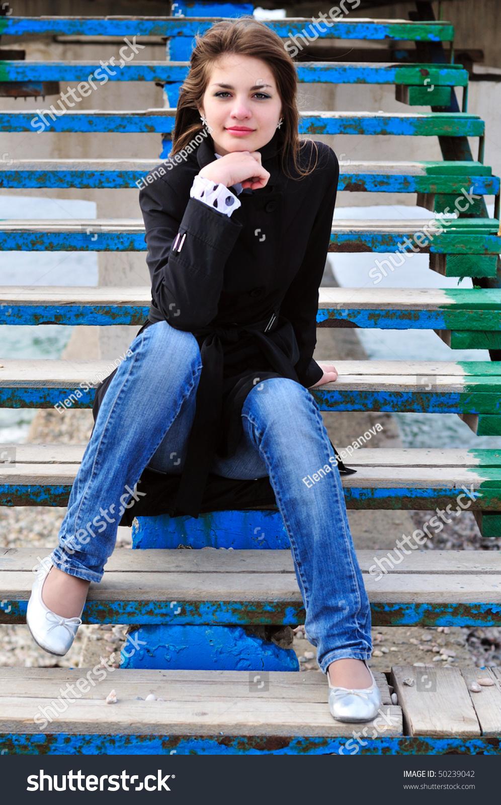 Jeans sweet teen