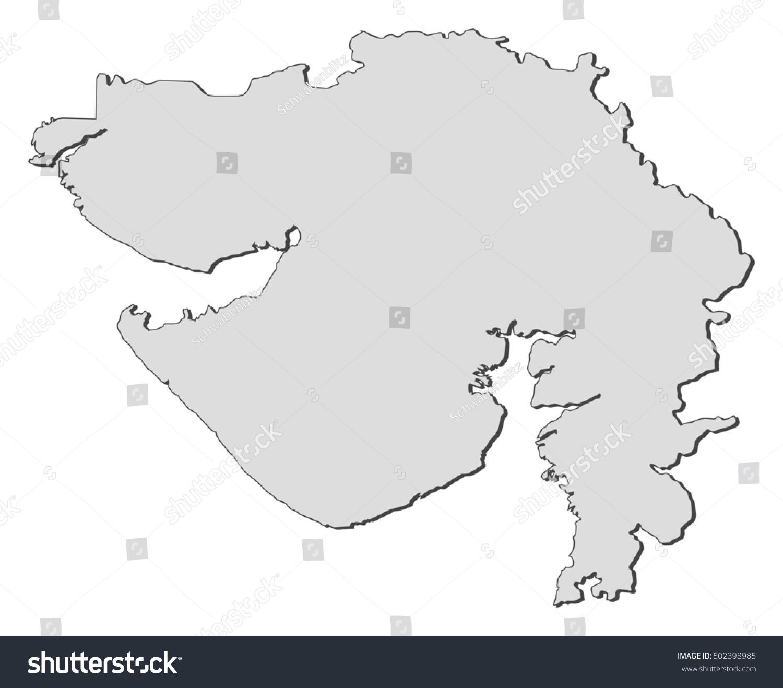 Map gujarat india vectores en stock 502398985 shutterstock map gujarat india gumiabroncs Choice Image
