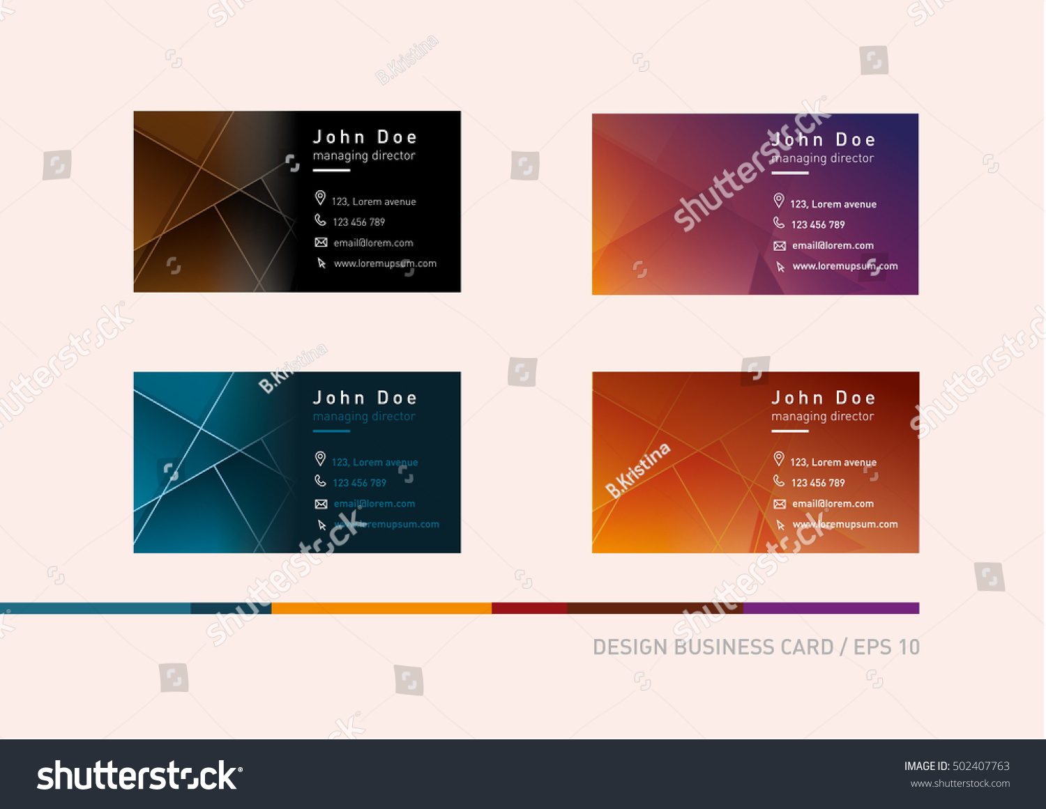 Business Cards With Different Photos Images - Card Design And Card ...