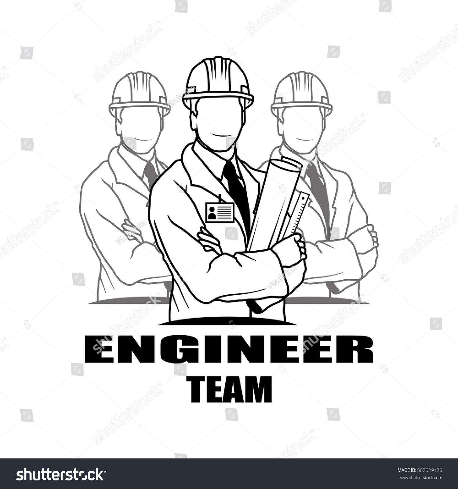 Engineer Drawing Vector Logo Icon Clipart Png Wallpaper Silhouette