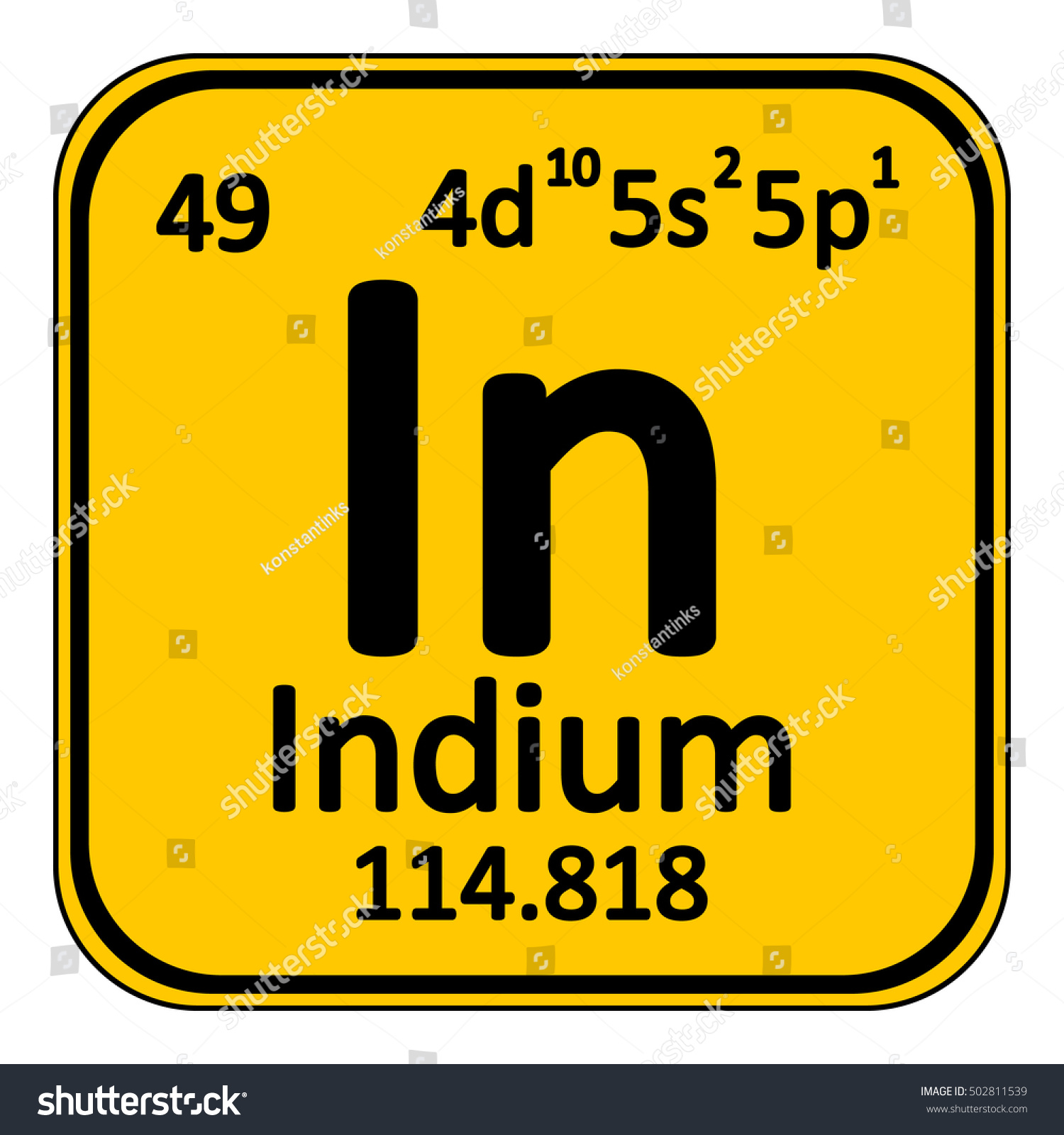 Indium symbol periodic table gallery periodic table images indium in periodic table gallery periodic table images periodic table element indium icon on stock vector gamestrikefo Gallery
