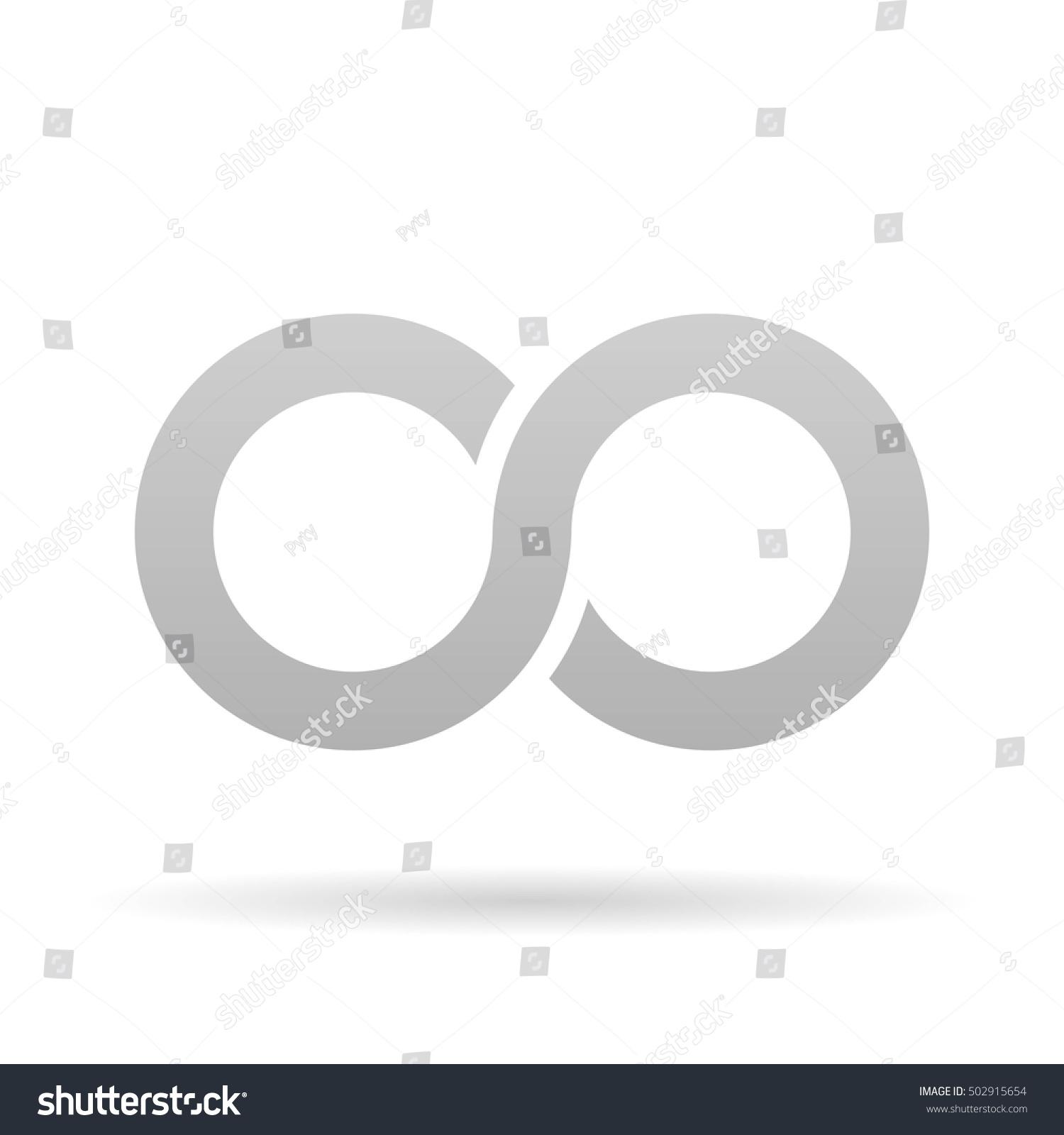 Infinity symbol icon aka lemniscate looks stock vector 502915654 infinity symbol icon aka lemniscate looks like sideways number eight mathematic symbol representing biocorpaavc Gallery