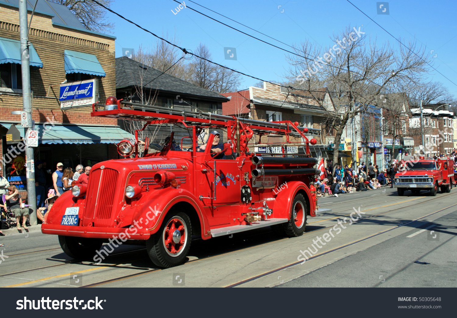 TORONTO CANADA APRIL 4 Antic Cars Stock Photo & Image (Royalty-Free ...