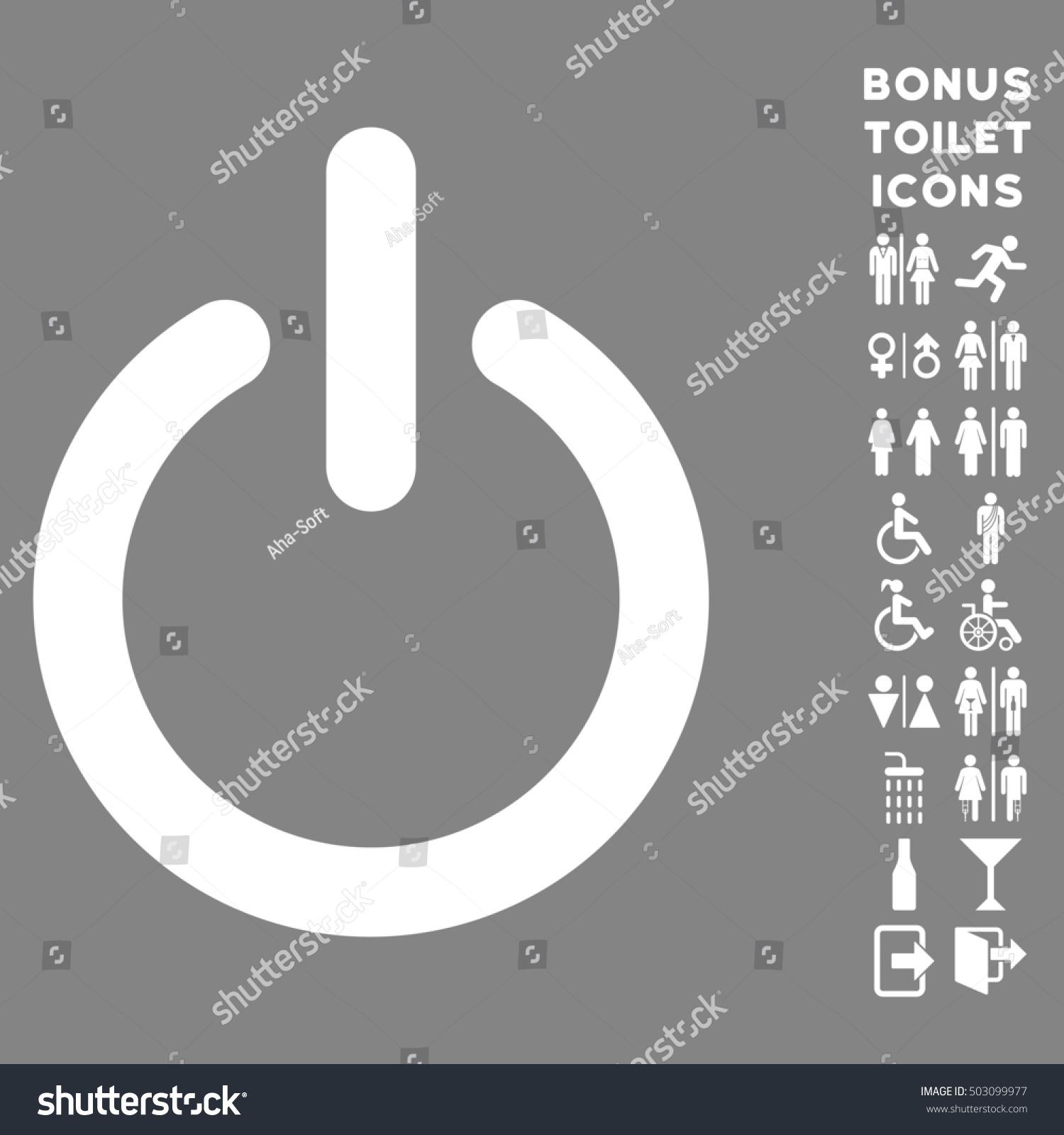 Turn Off Icon Bonus Man Lady Stock Illustration 503099977 - Shutterstock