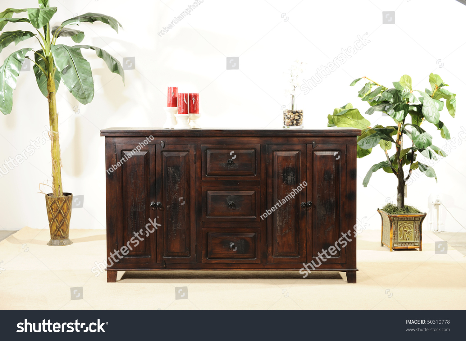 Beautiful Hard Wood Furniture Stock Photo 50310778 Shutterstock