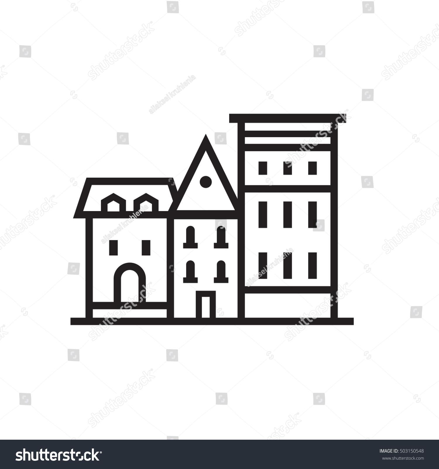 German Style House Logo House Style
