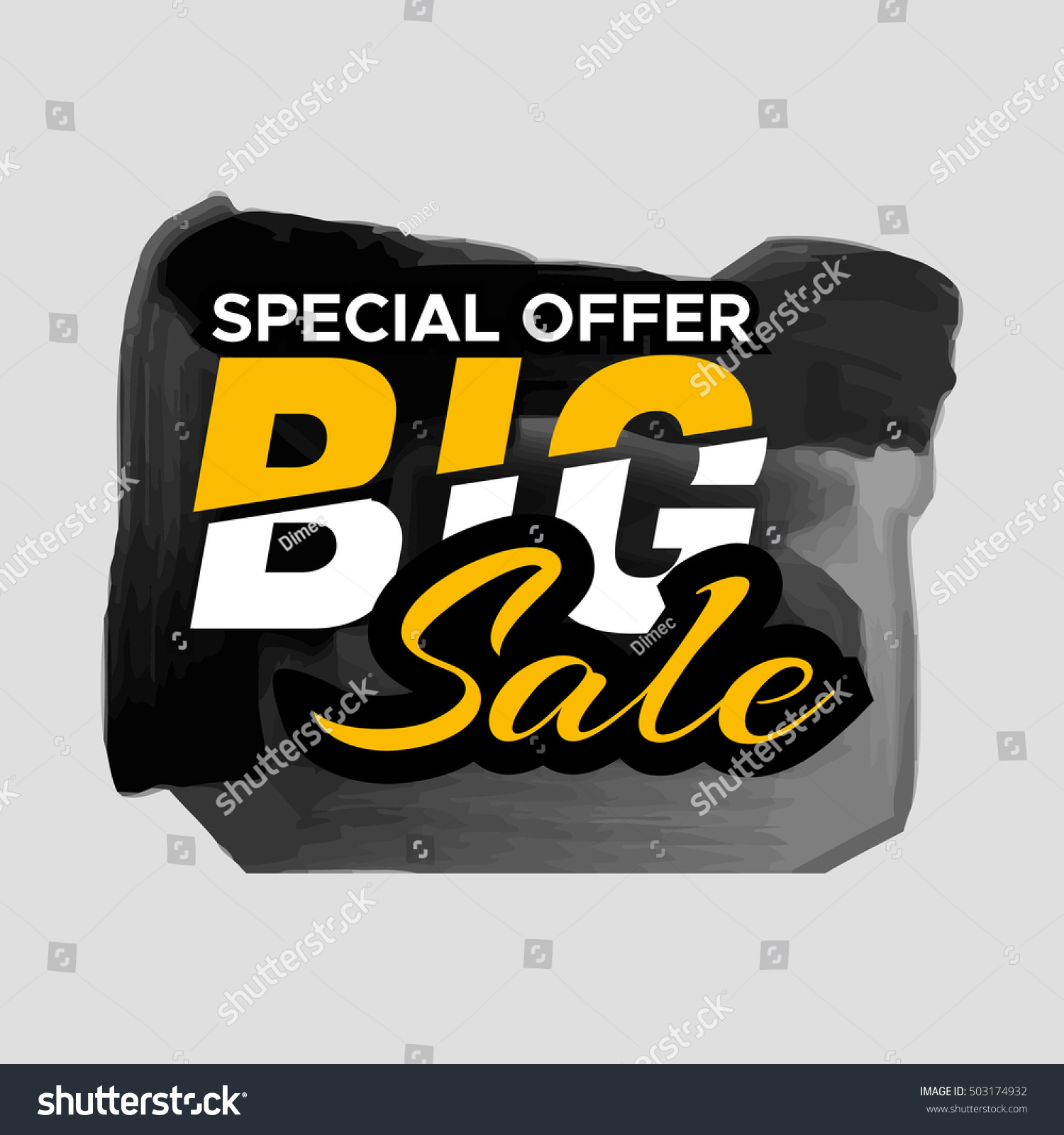 Grunge ink design big sale stickers stock vector 503174932 for Ink sale