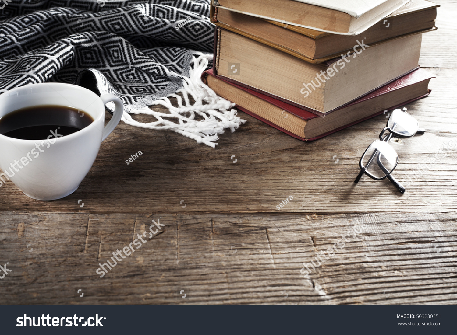 Reading books coffee on table stock photo 503230351 for Photography coffee table books