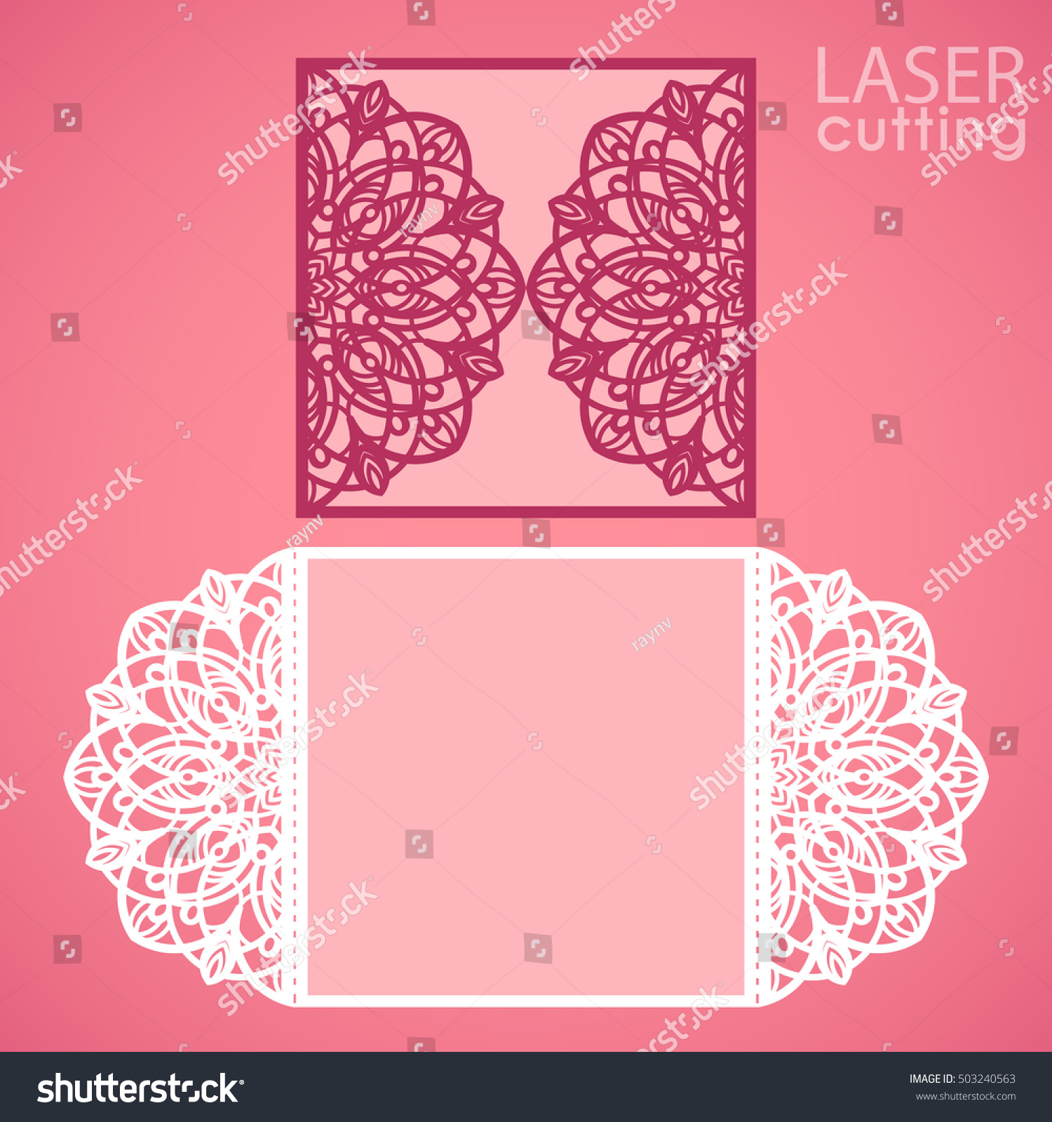 Laser cut wedding invitation card template em vetor stock 503240563 laser cut wedding invitation card template em vetor stock 503240563 shutterstock stopboris Image collections