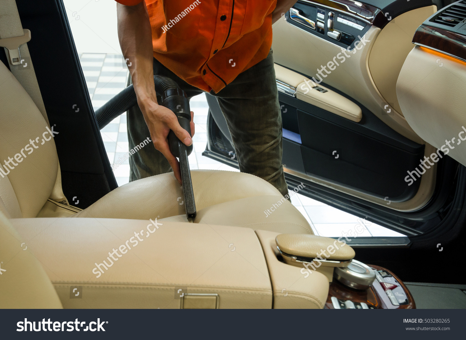 cleaning of interior of the car with vacuum cleaner car cleaning stock photo 503280265. Black Bedroom Furniture Sets. Home Design Ideas