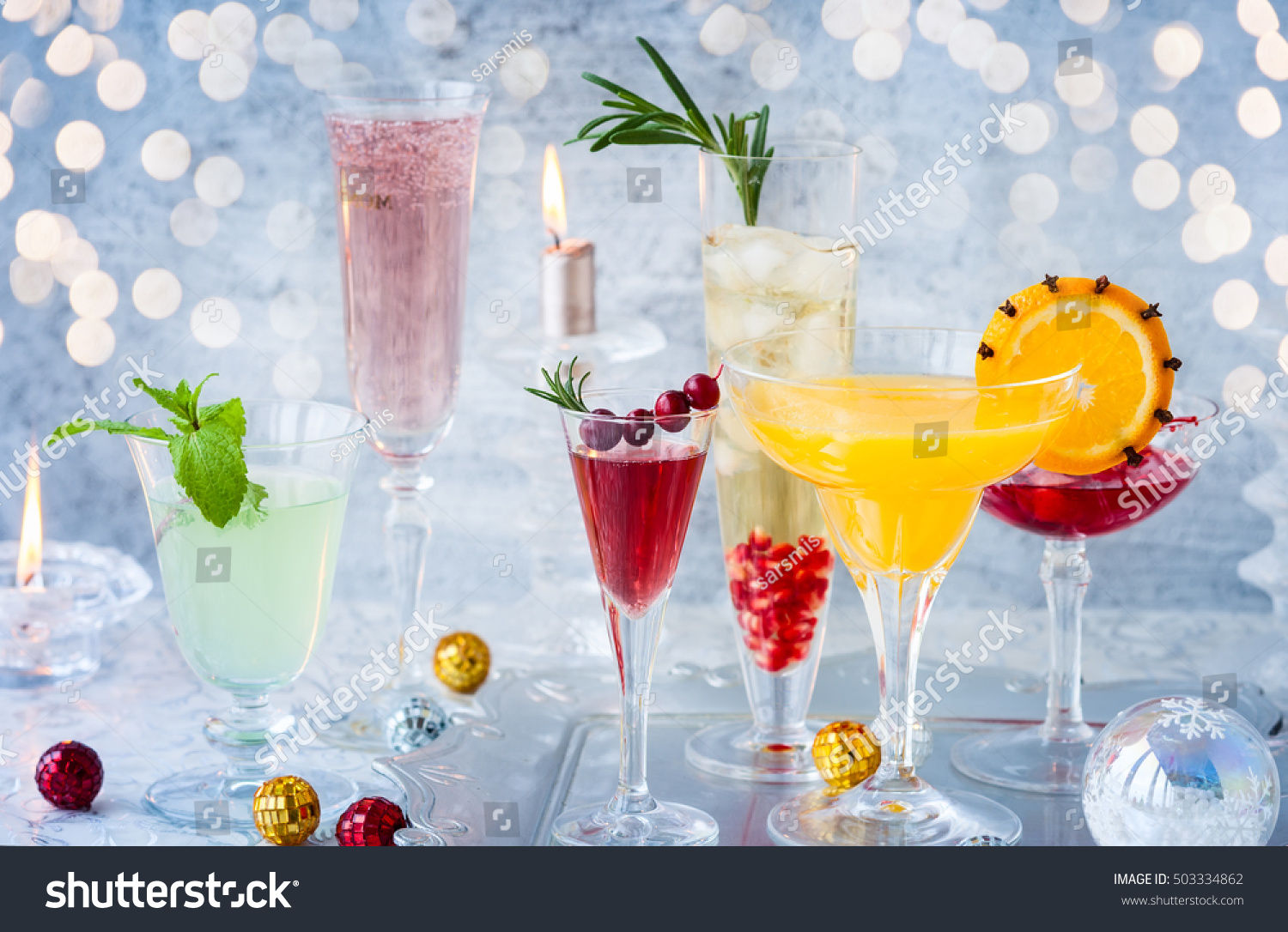 Image result for festive tray of champagne