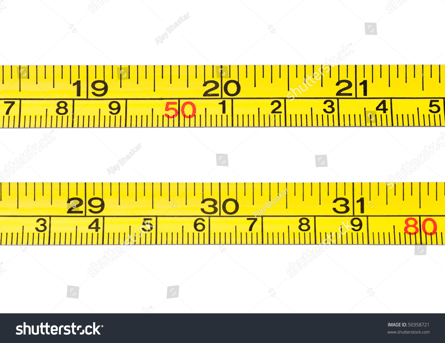 teach how to read a tape measure