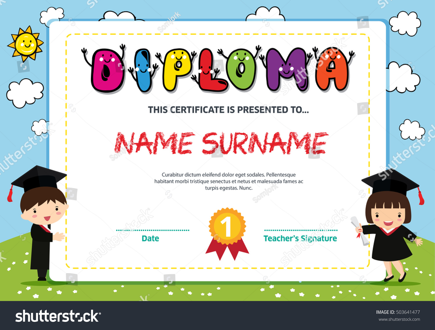 100 reading certificate templates certificate clip art reading certificate templates kids diploma certificate background design template stock vector yadclub Image collections
