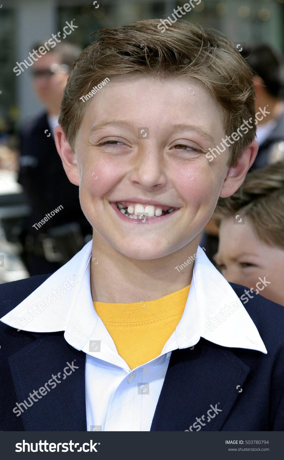 Jordan Fry Los Angeles Premiere Charlie Stock Photo ...