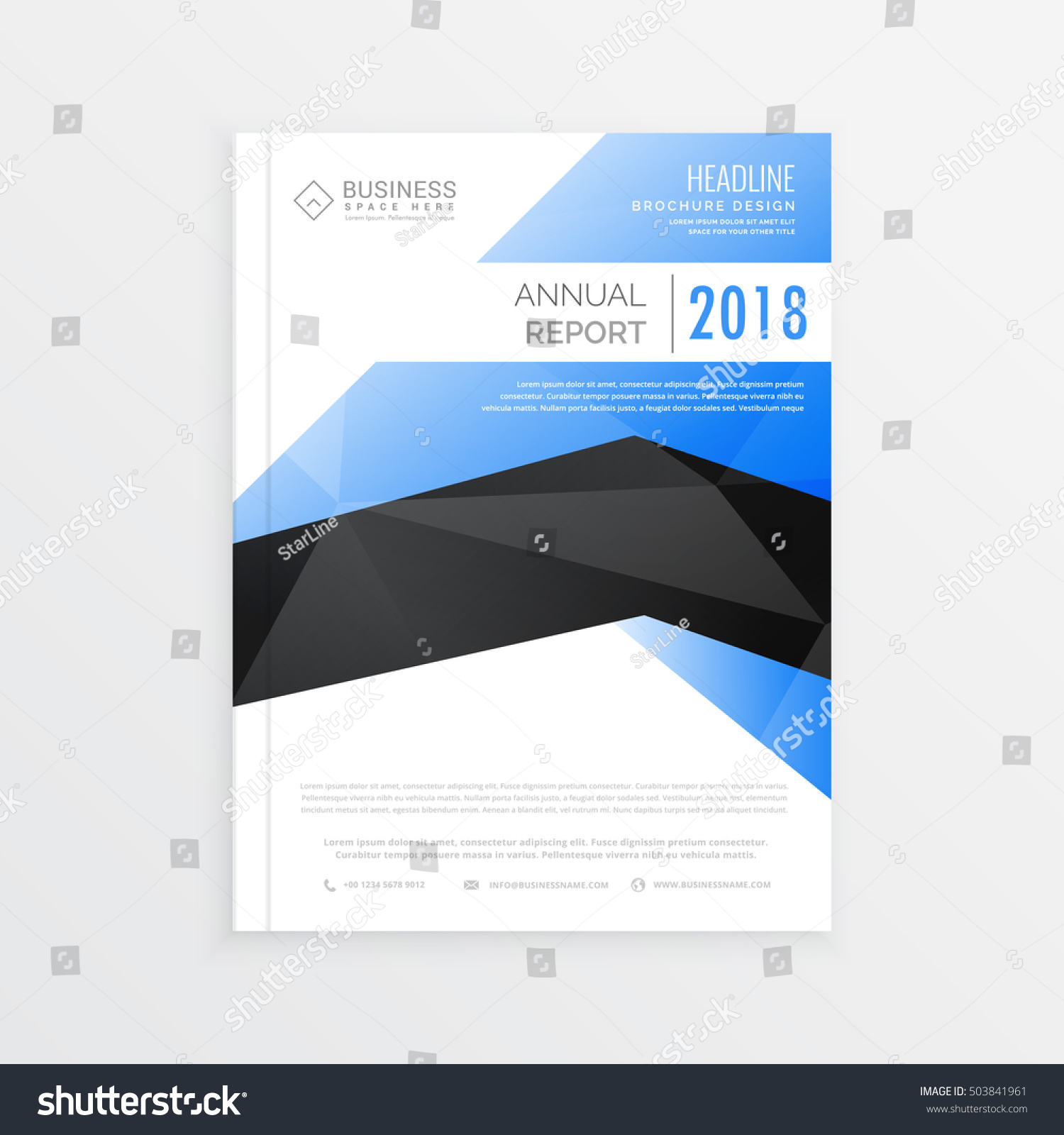awesome business brochure template blue and black theme awesome business brochure template blue and black theme annual report cover page design in