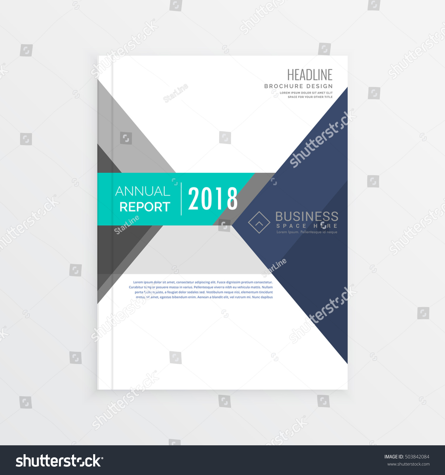 business brochure template design in geometric shapes annual business brochure template design in geometric shapes annual report cover page in a4 size