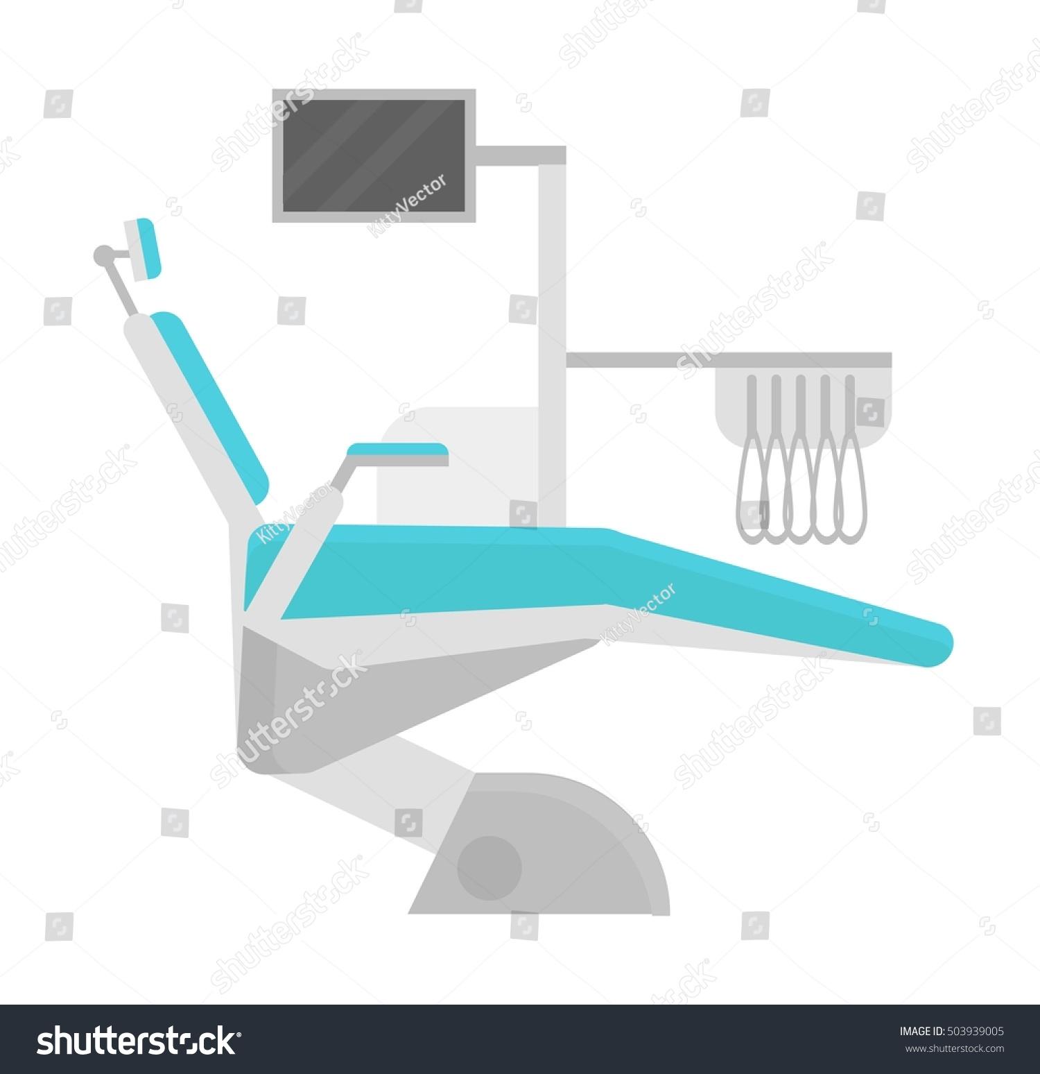 Dental Chair Vector Illustration Stock Vector Shutterstock