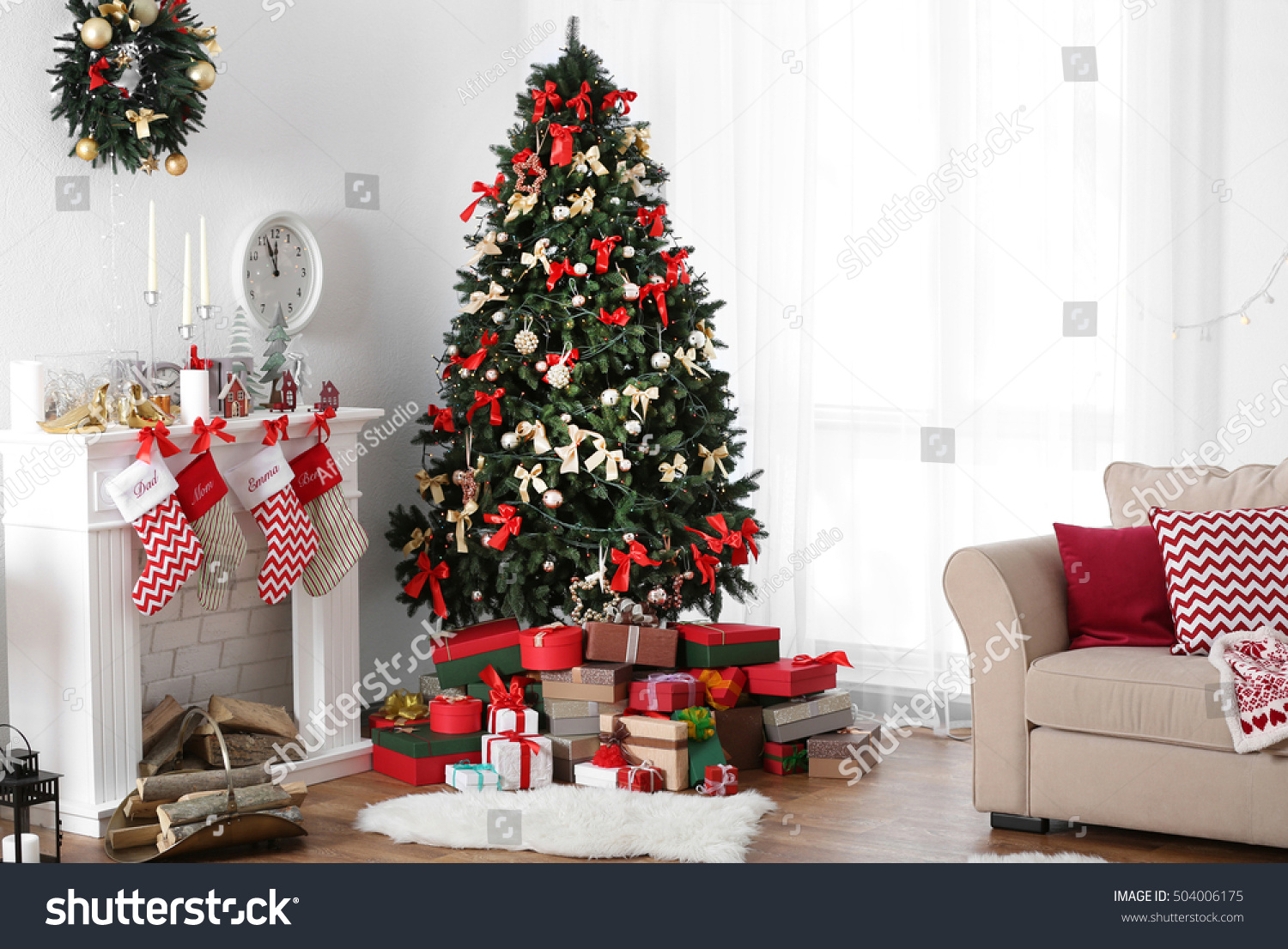 Christmas Trees Photos Decorated
