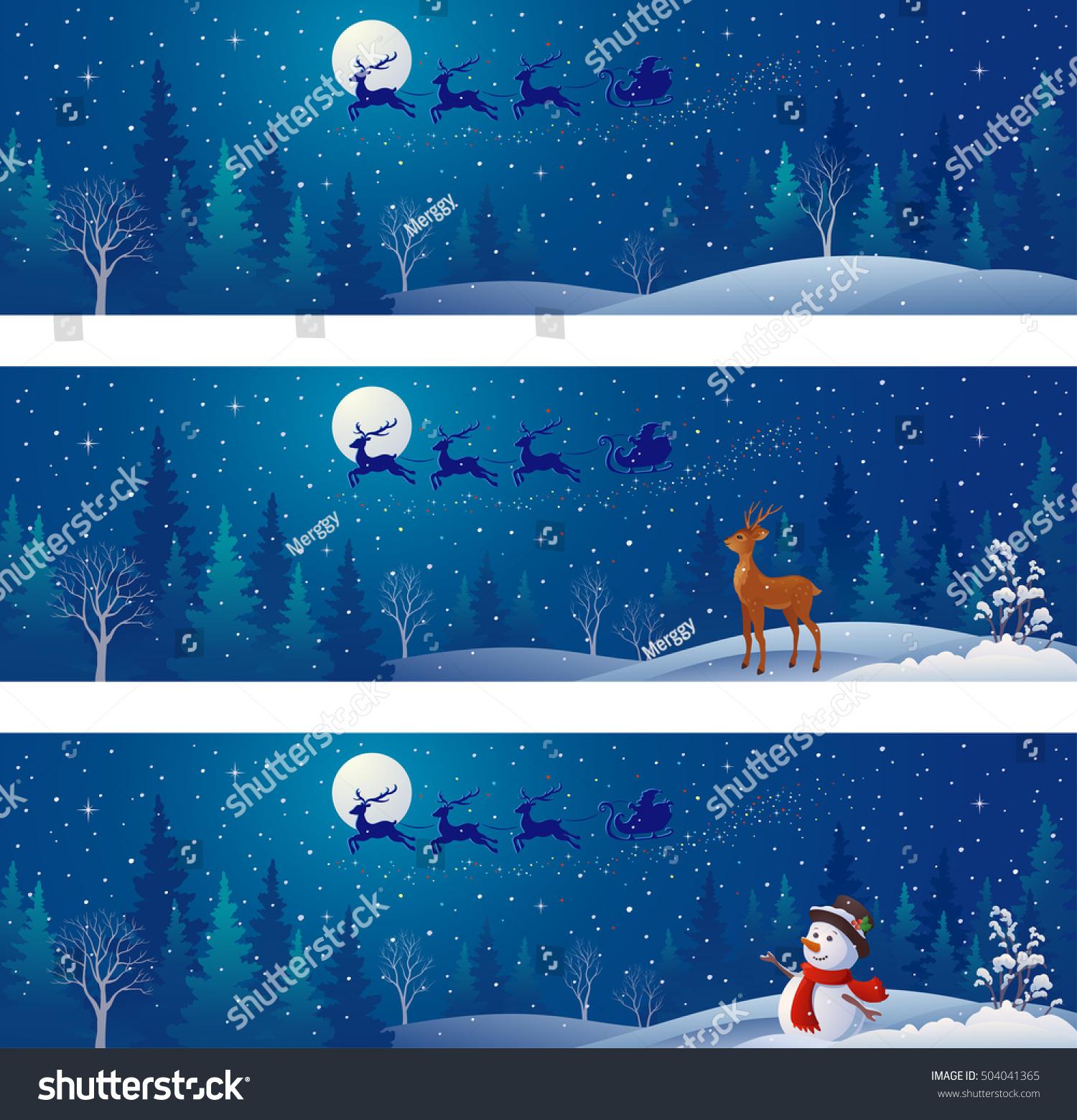 snowscape clip art