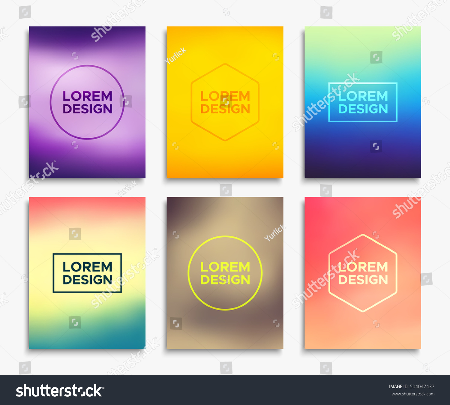 brochure flyer layouts a 4 size abstract stock photo photo vector
