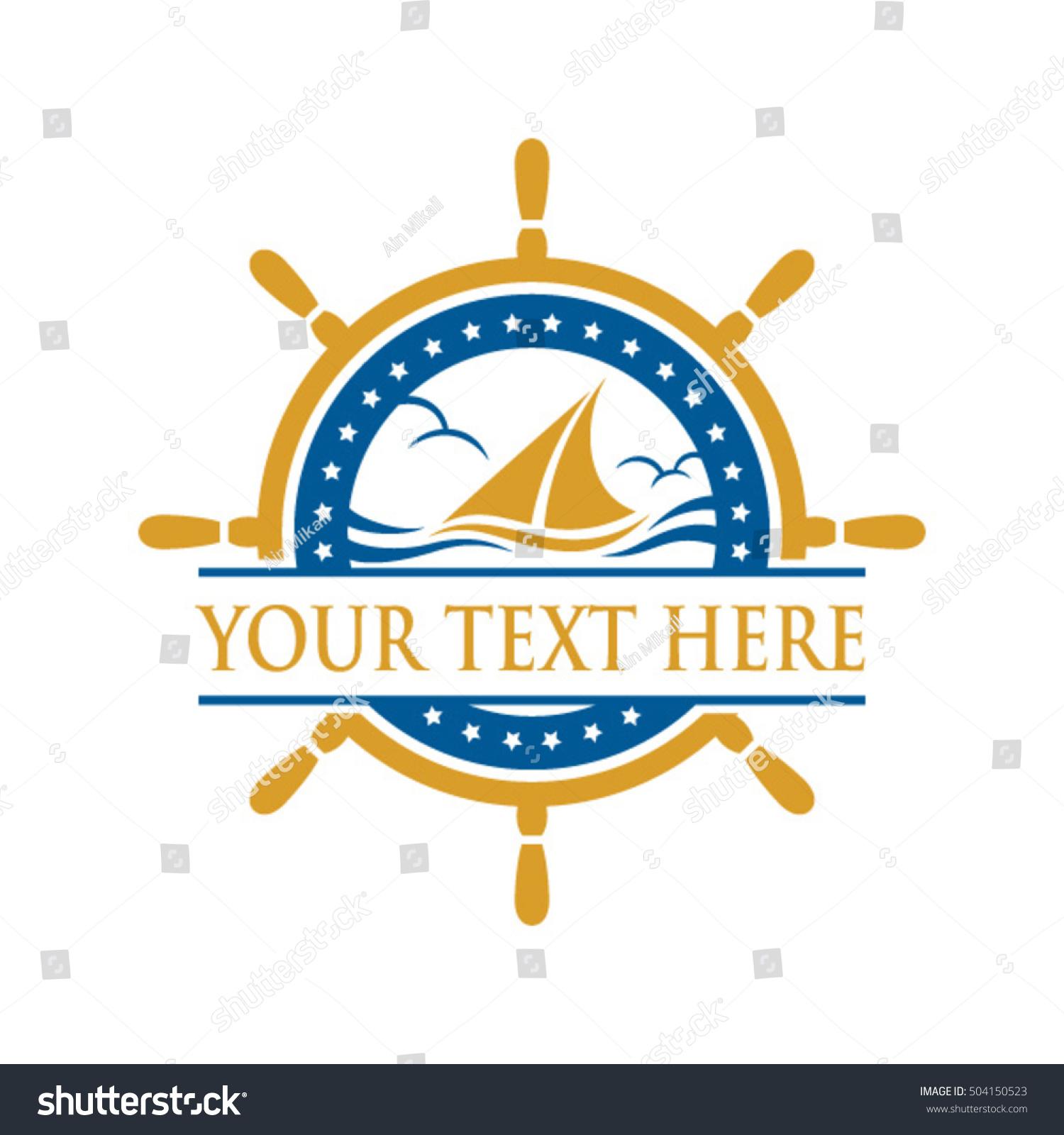 Yacht ship sign symbol logo vector stock vector 504150523 yacht ship sign and symbol logo vector buycottarizona