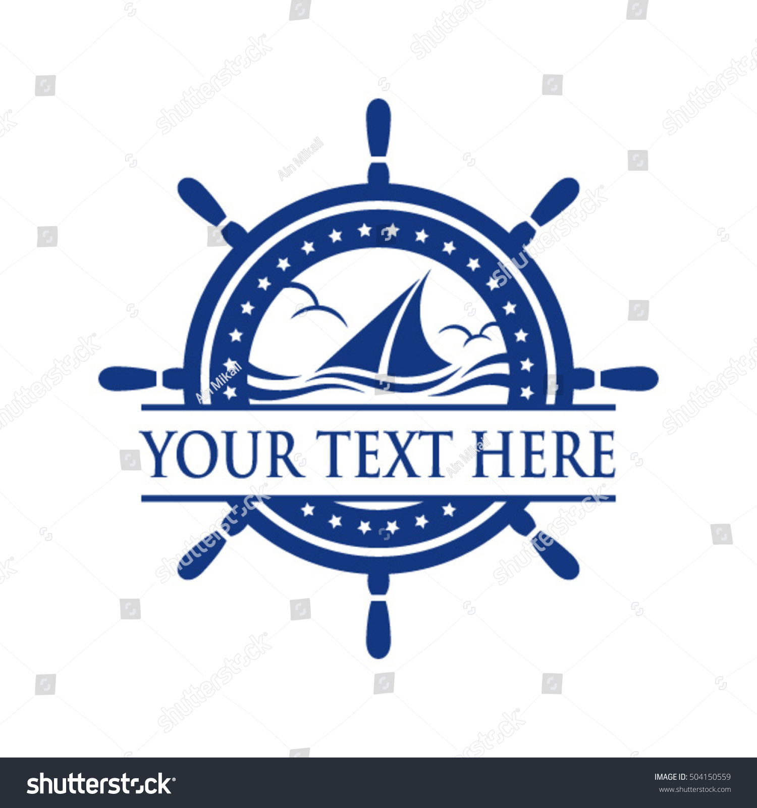 Yacht ship sign symbol logo vector stock vector 504150559 yacht ship sign and symbol logo vector buycottarizona