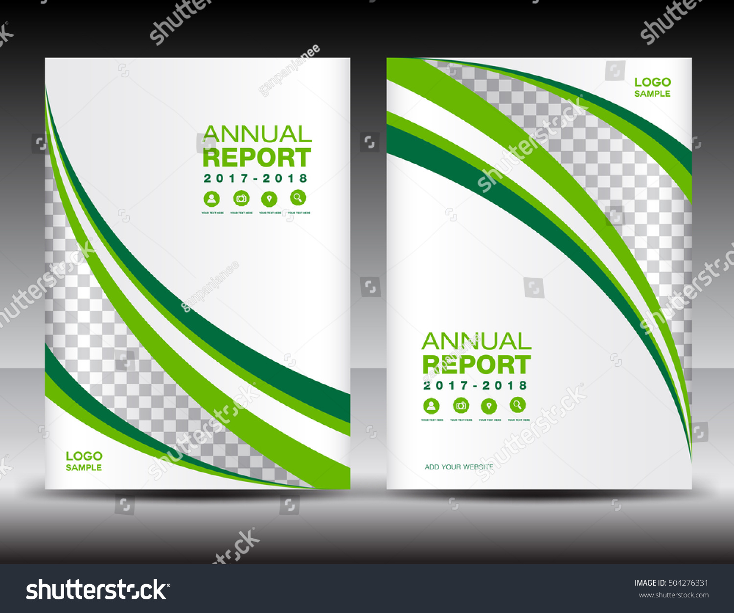 Sample Of Annual Report Of A Company Page Layout For