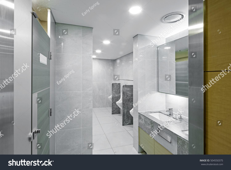 A public restroom(public toilet, bathroom, toilet, loo, rest- room ...