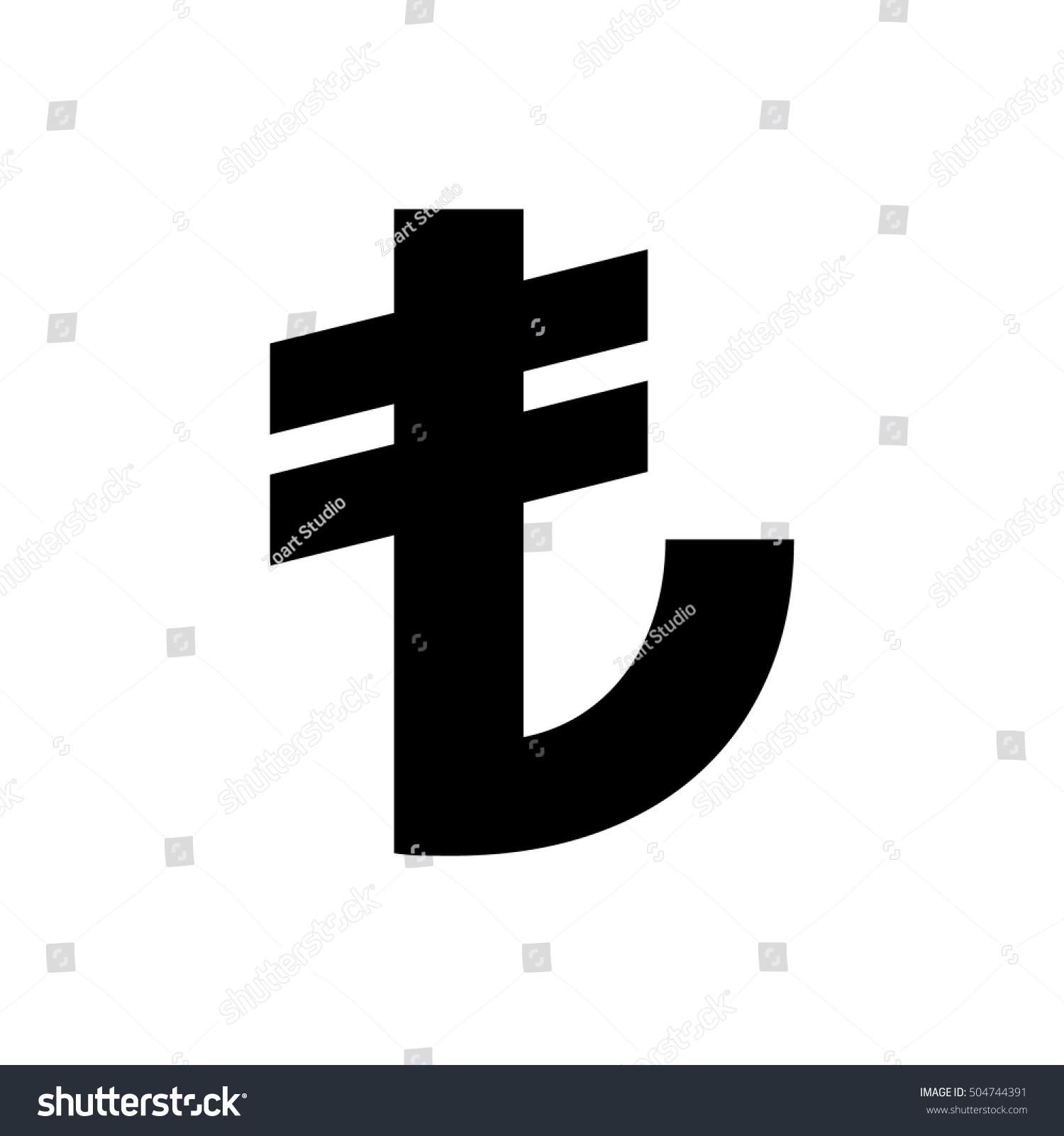 Turkish lira sign turkish currency symbol stock vector 504744391 turkish lira sign turkish currency symbol buycottarizona