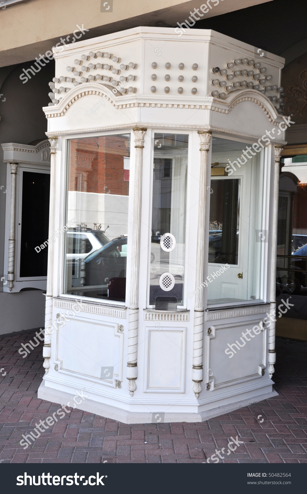 Empty Box Office Ticket Booth Movie Stock Photo (Safe to Use ...