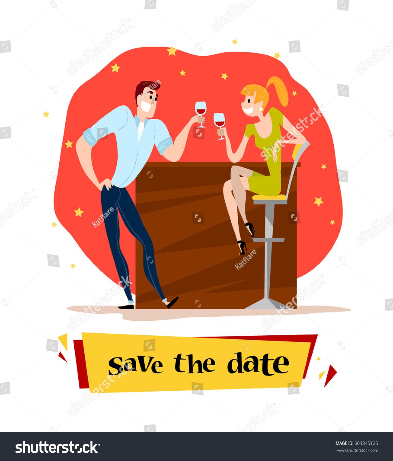 Dating illustration