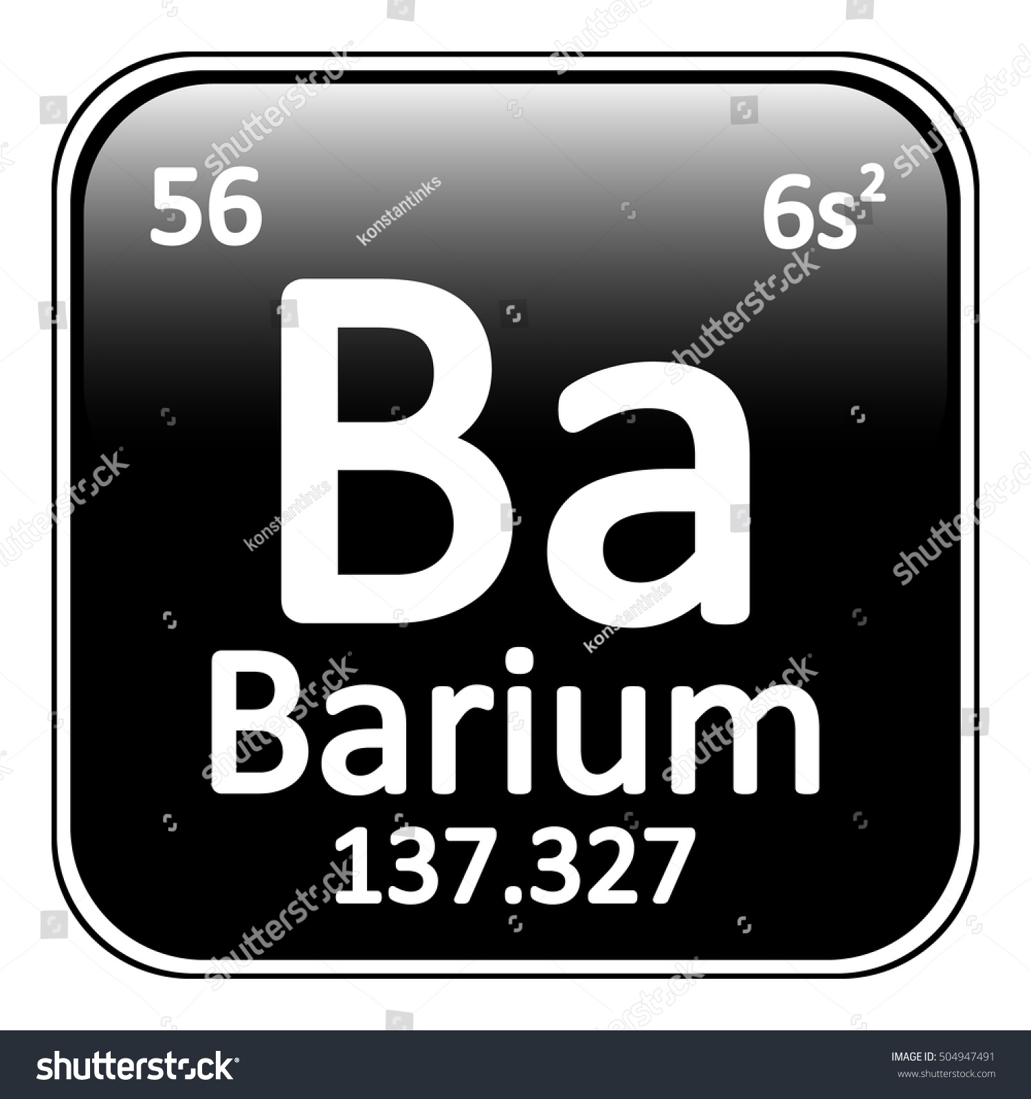 Barium on periodic table images periodic table images periodic table element barium icon on stock vector 504947491 periodic table element barium icon on white gamestrikefo Gallery