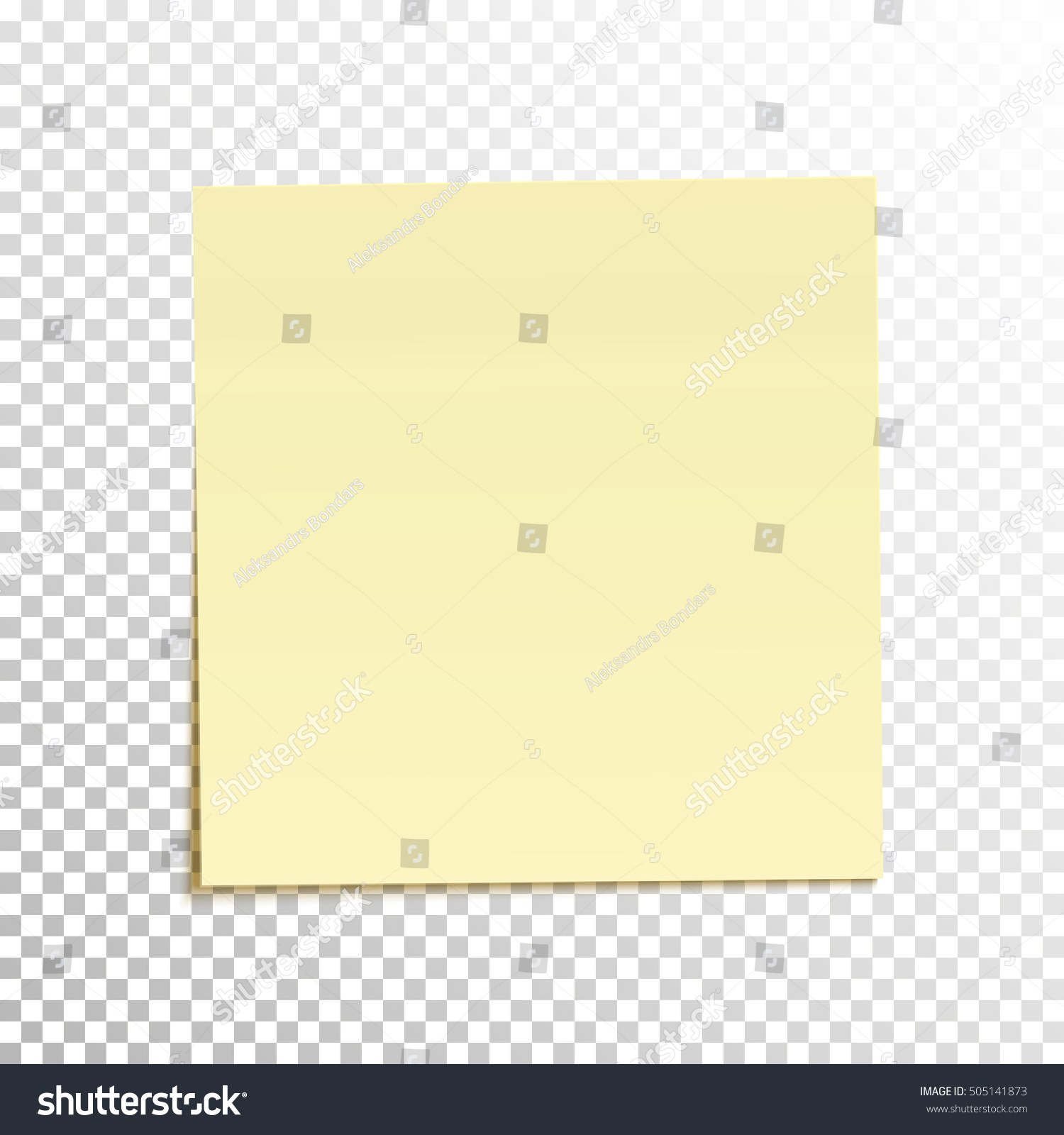 sticky note isolated on transparent background stock vector 505141873 shutterstock. Black Bedroom Furniture Sets. Home Design Ideas