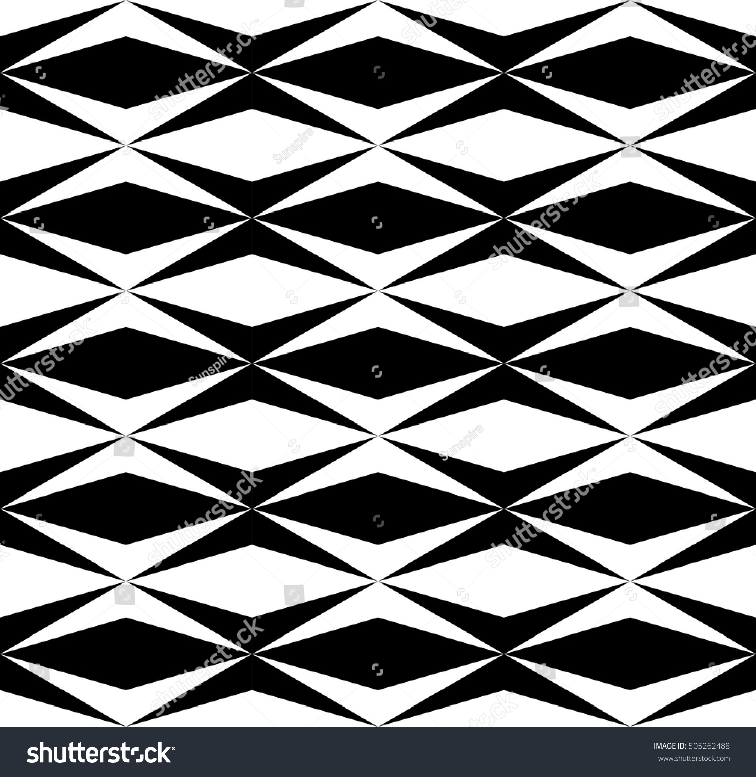 Black bed sheets pattern - Vector Modern Abstract Geometry Tile Pattern Black And White Seamless Geometric Background Subtle Pillow