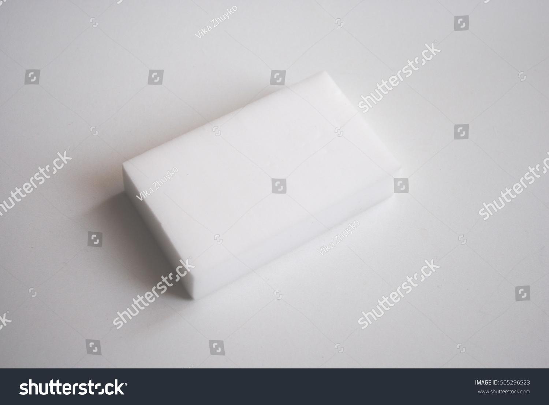 The Use Of Melamine Sponge Stock Photo 505296523 Shutterstock
