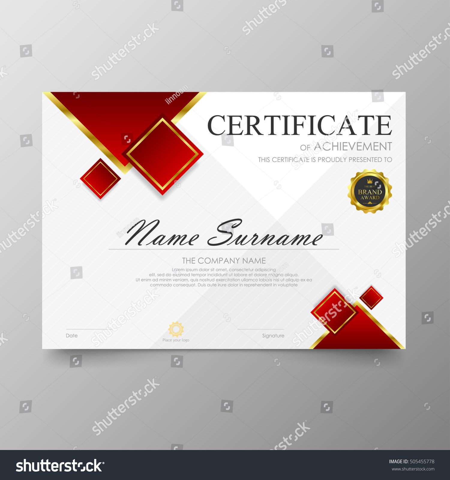 Business Certificates Templates