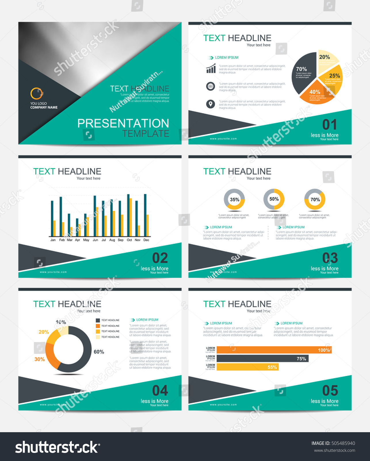 Studio Minimal Presentation PowerPoint Template