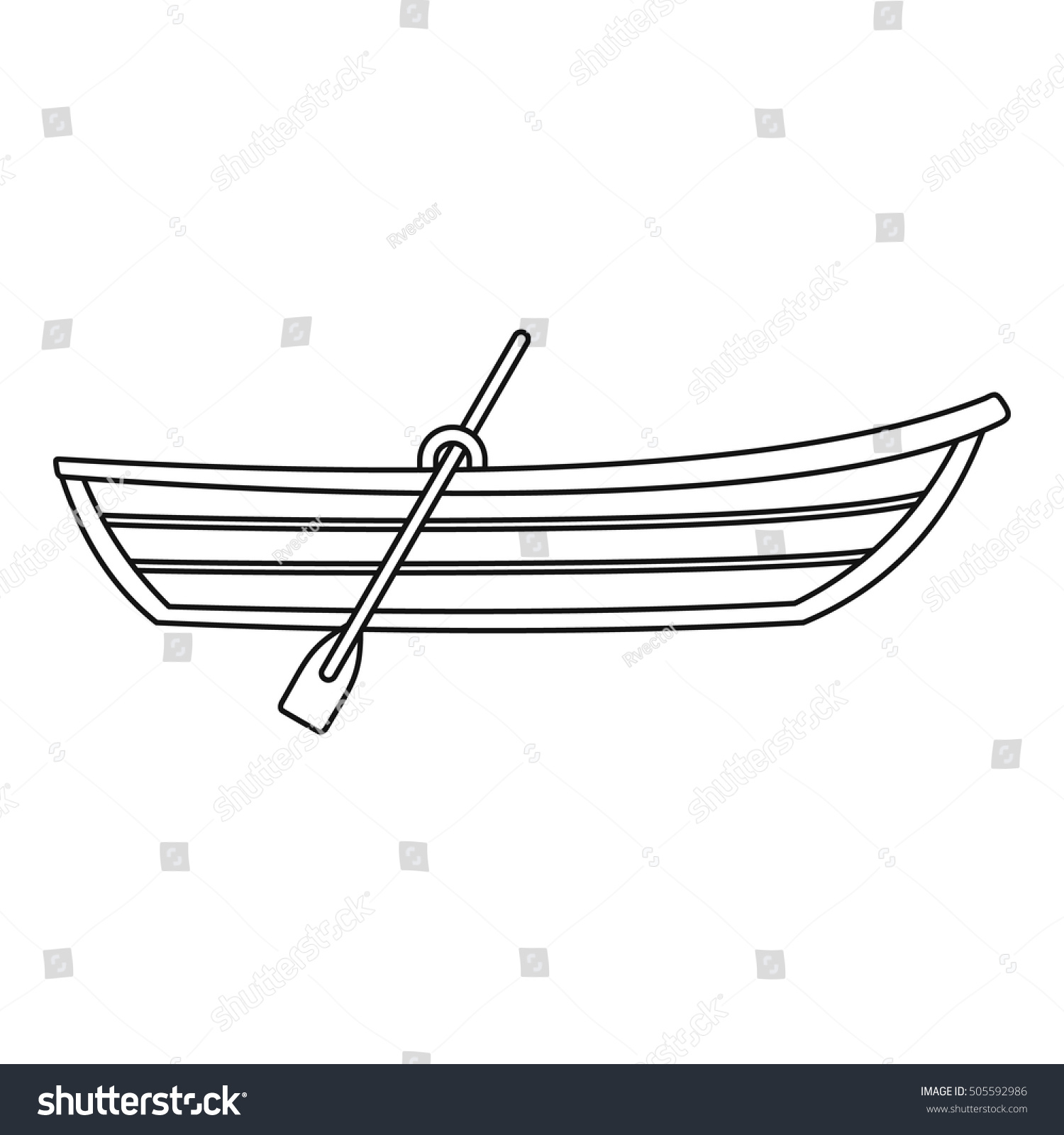 boat paddles outlines pictures to pin on pinterest pinsdaddy