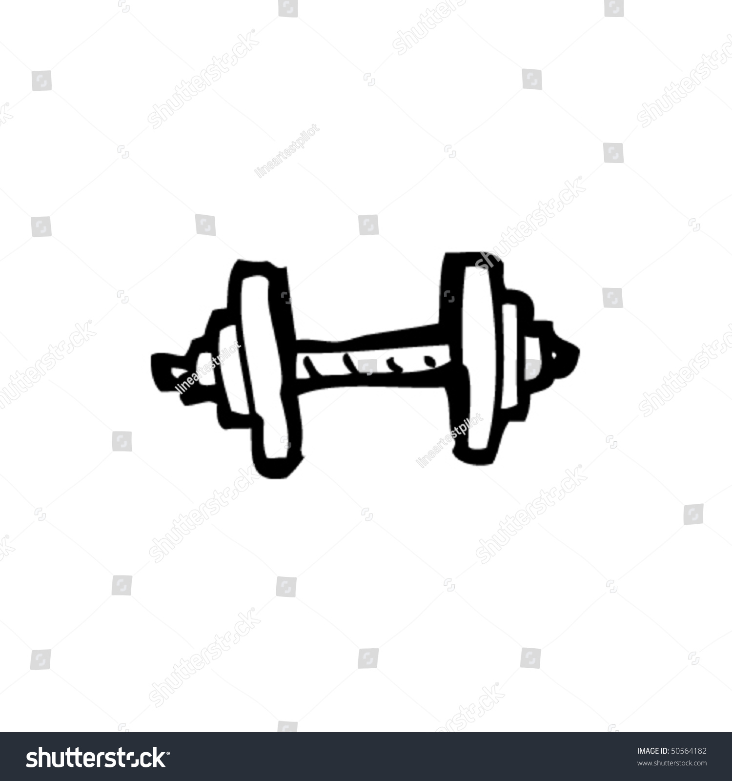 how to draw dumbbell gimp