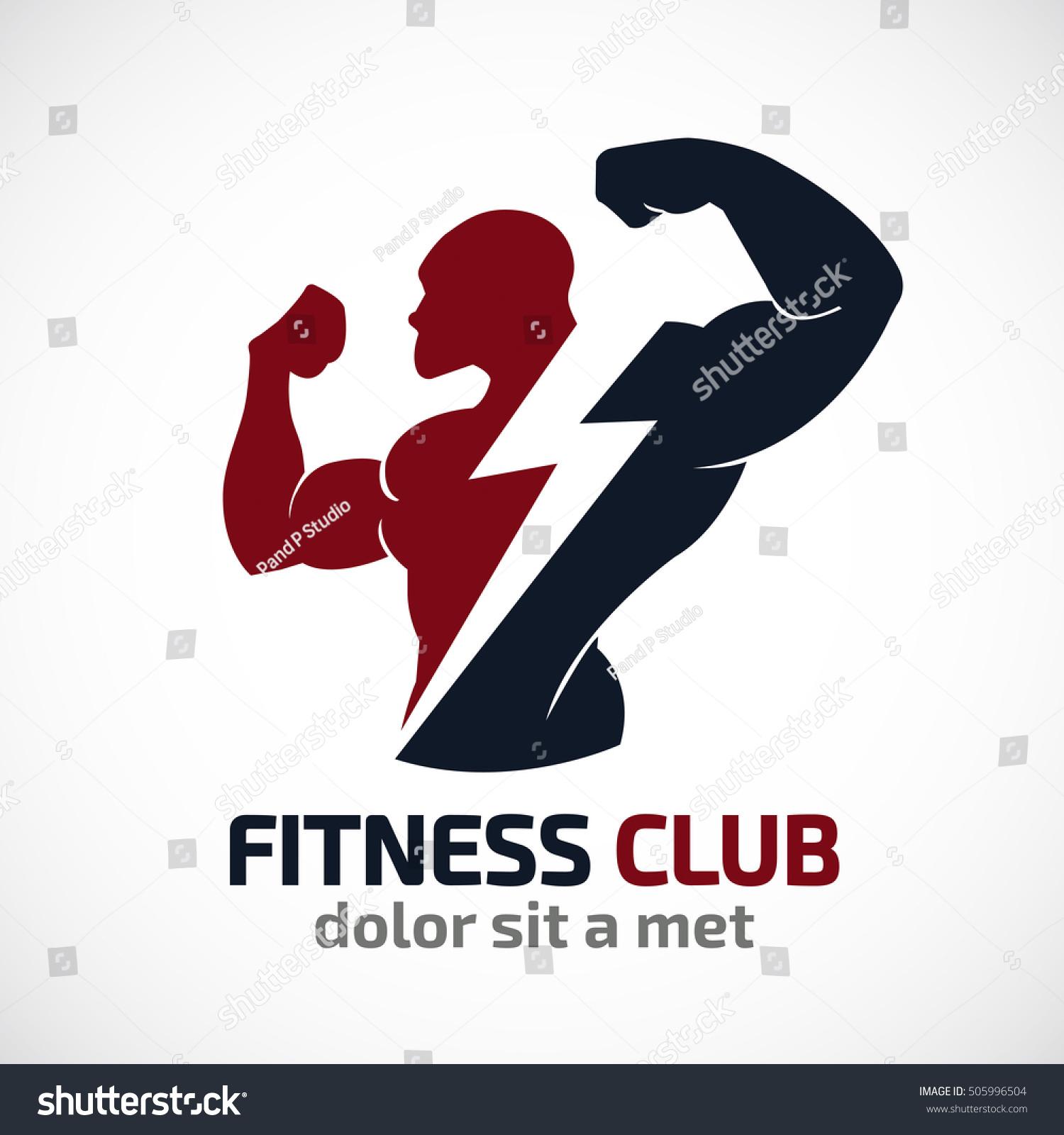 Fitness Vector Logo Design Templatedesign Gym Stock Vector ... for Fitness Logo Vector Free Download  165jwn