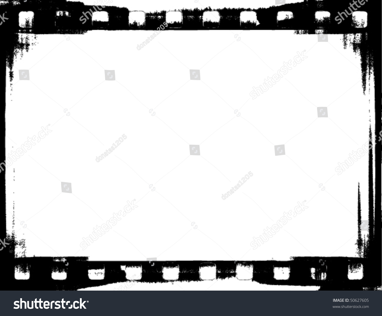Vector Grunge Filmstrip Frame Stock-Vektorgrafik (Lizenzfrei ...