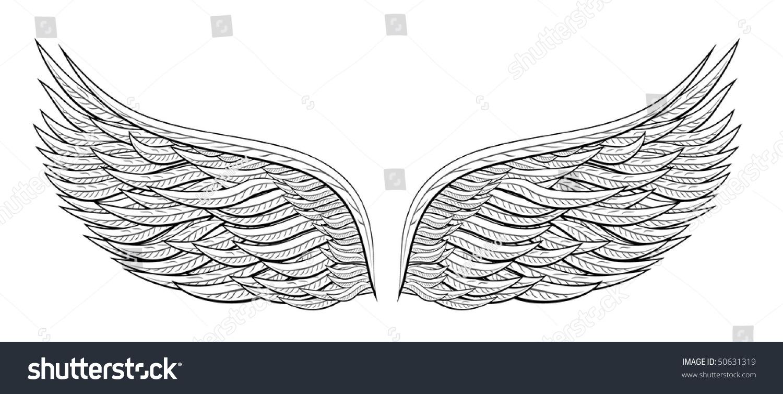 Angel Wing Tattoo Designs Free