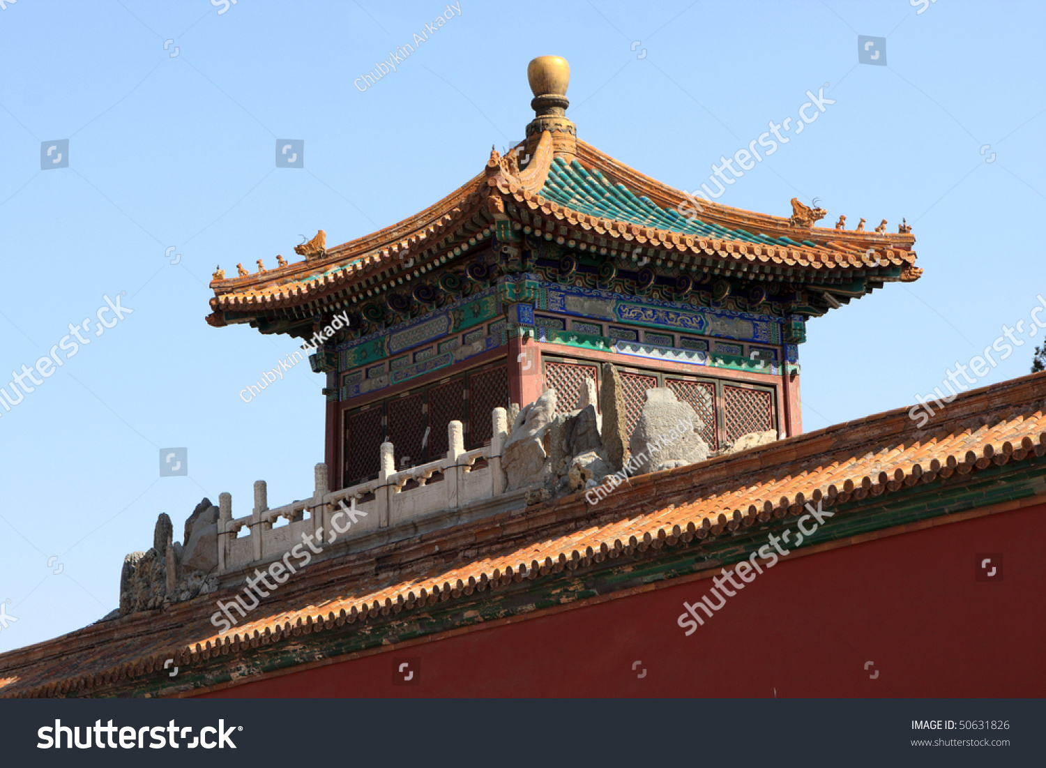 Tower Of Temple In Forbidden City Was The Chinese Imperial ...  |Imperial Palace Forbidden City Beijing China